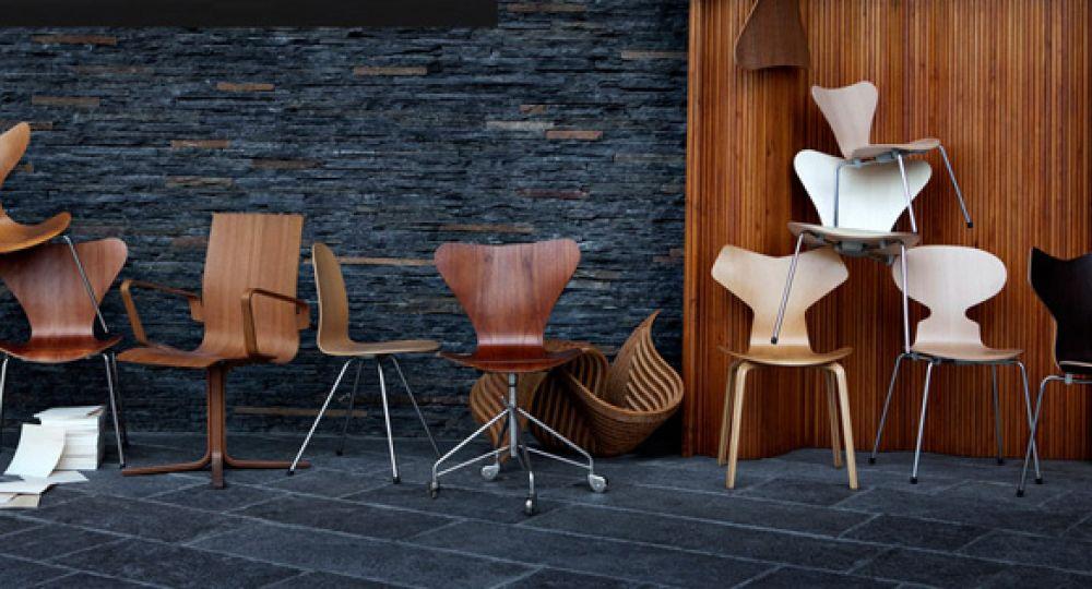 Sillas de Diseño. Arne Jacobsen