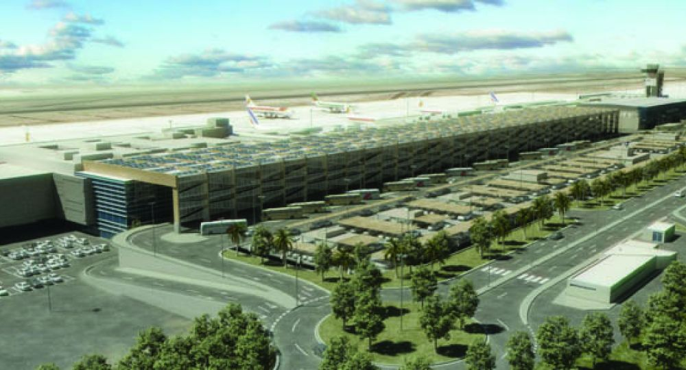Ampliación del Aeropuerto de Gran Canaria: Estudio Lamela