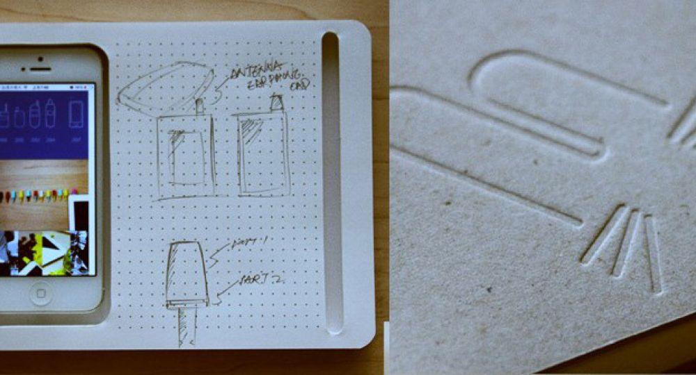 Cuaderno analógico para Iphone. Ideal para el arquitecto