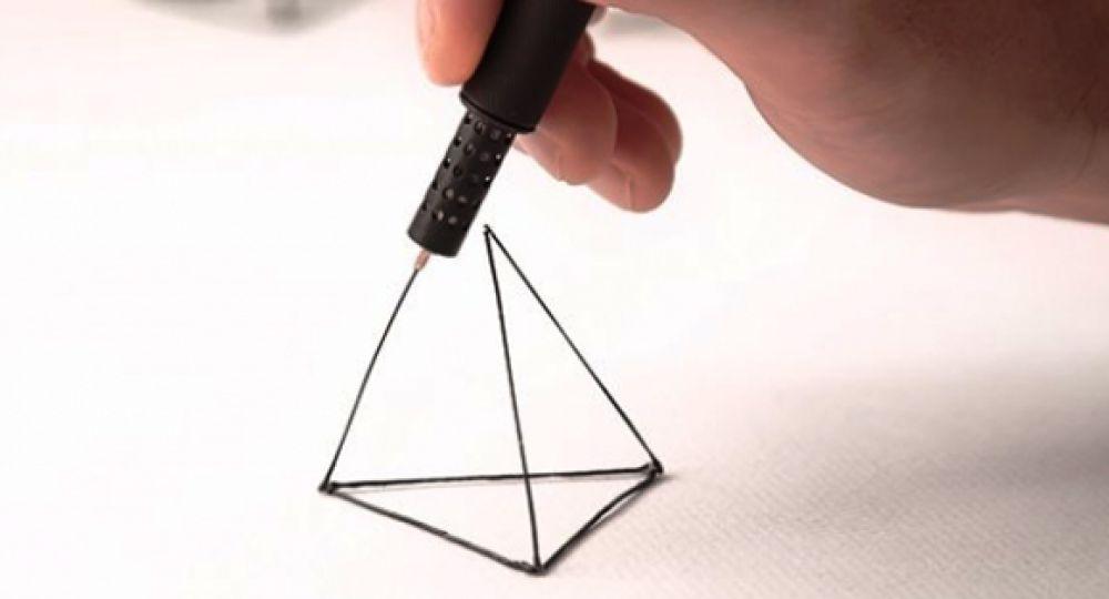 Dibujar en el aire. Lix Boligrafo 3D