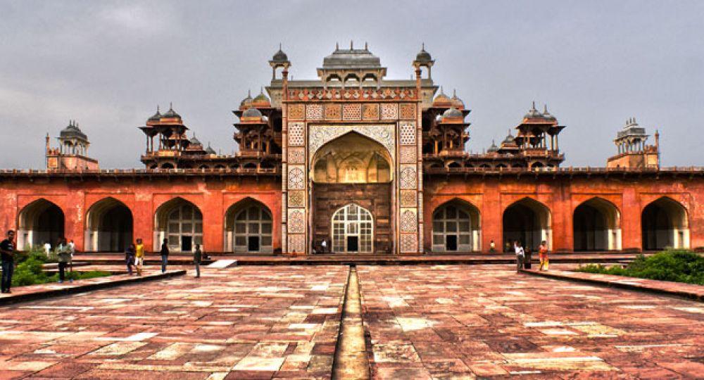 Tesoros del Islam: Mausoleo de Akbar el Grande en Sikandra