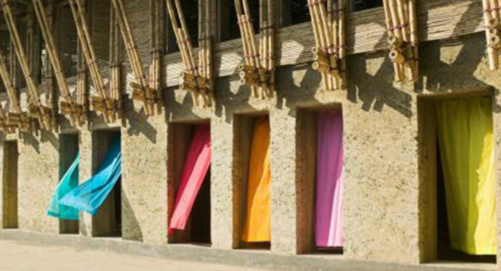 Arquitectura hecha a mano METI School, Bangladesh