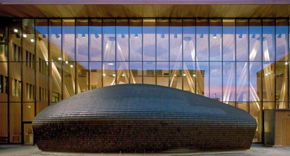 Centro de investigación del bosque, METLA, SARC Architects