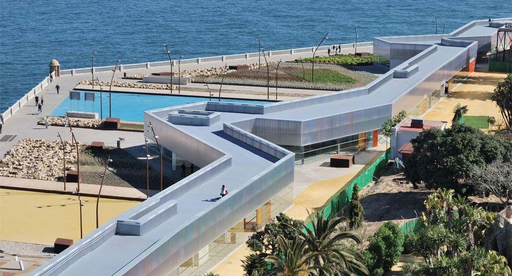 Mirador y edificio de protección del parque Genovés. Explanada de Santa Bárbara. Cádiz. José Luís Bezos Alonso