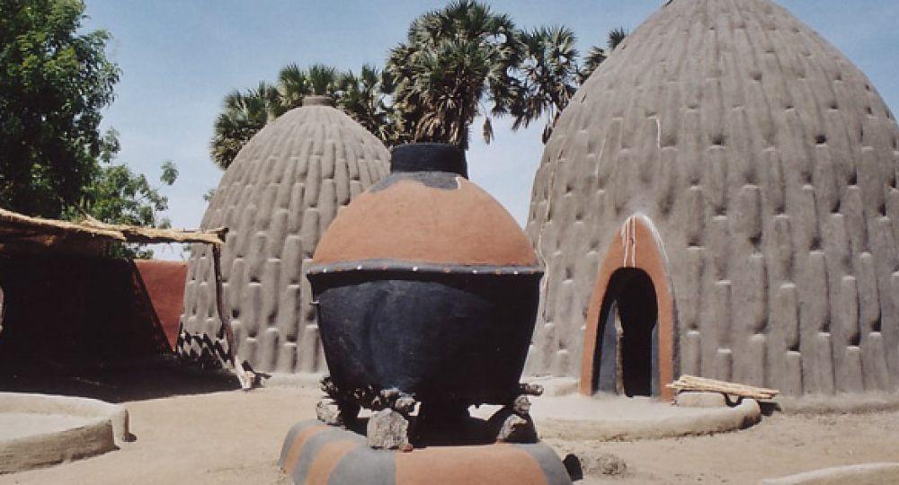 Viviendas de barro Musgum en Camerún