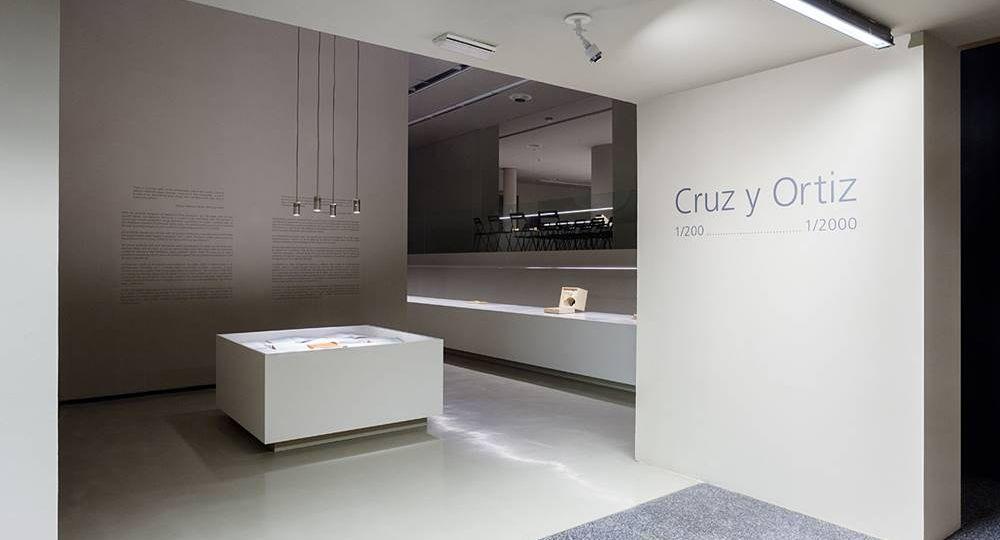 Exposición Cruz y Ortiz, 1/200… 1/2000, en el Museo ICO, Madrid.