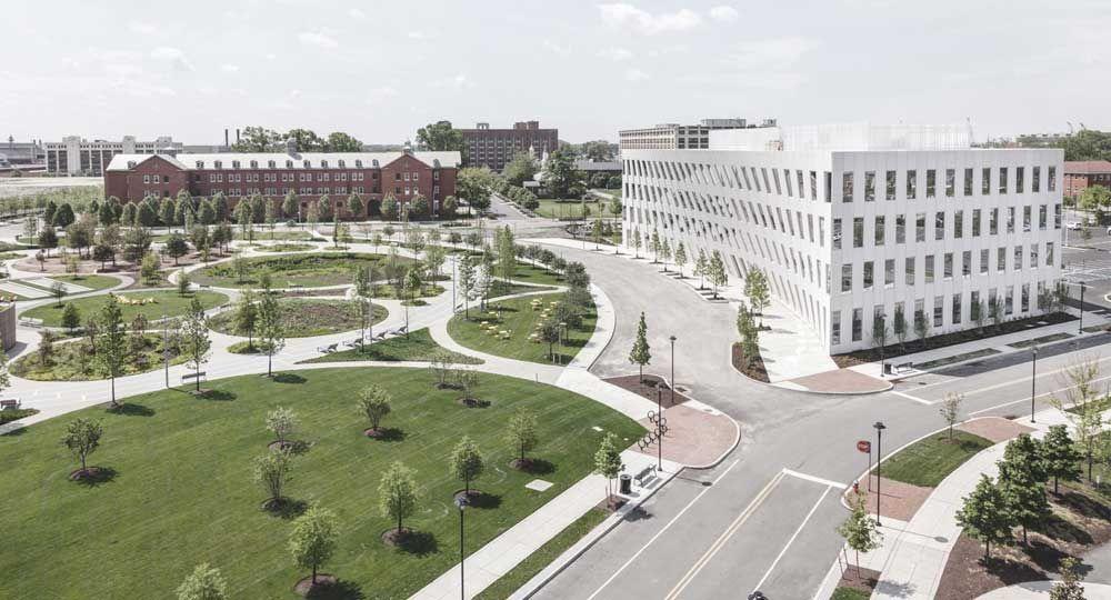 Las Atarazanas de Philadelphia acogen el primer edificio de oficinas construido por BIG