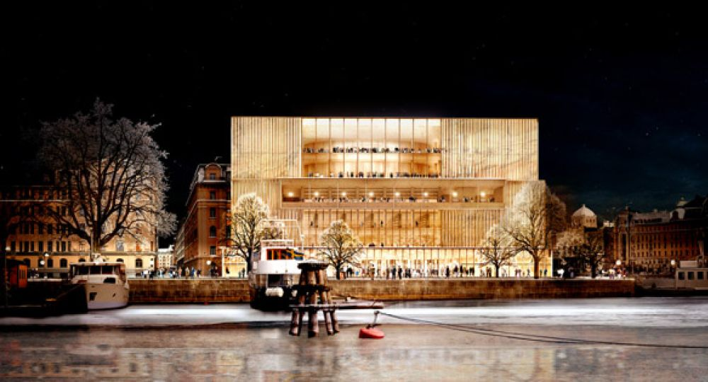 Nuevo centro Nobel. David Chipperfield