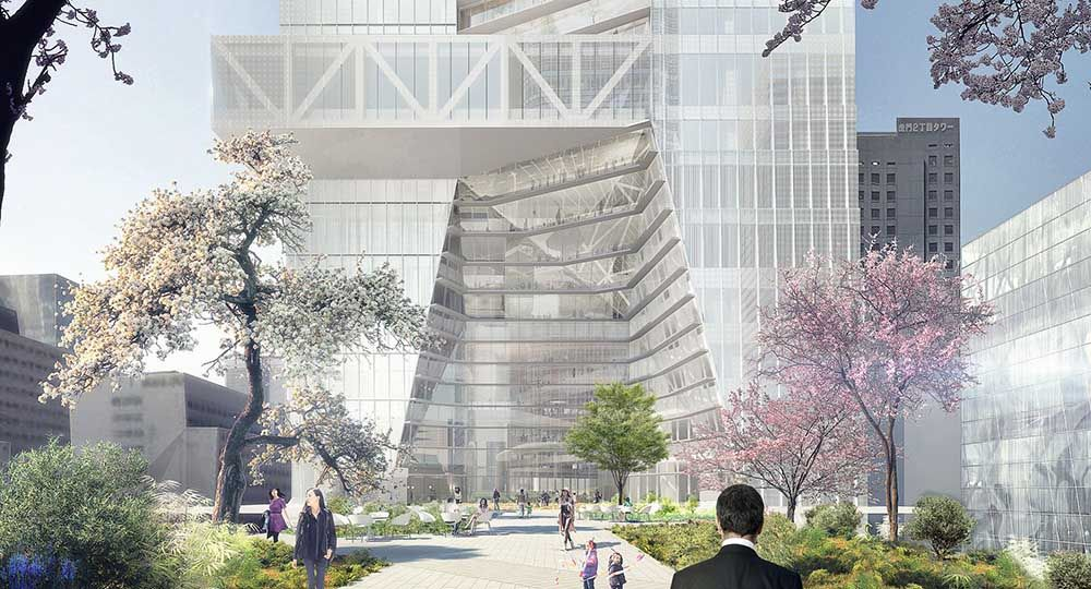 OMA construirá su primera torre en Tokio
