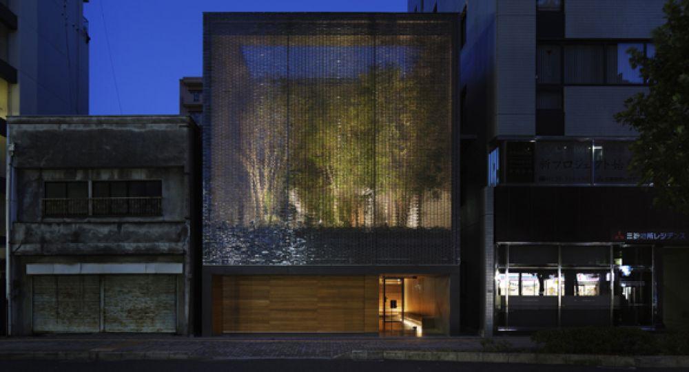 Casa de vidrio óptico. Nakamura & Nap