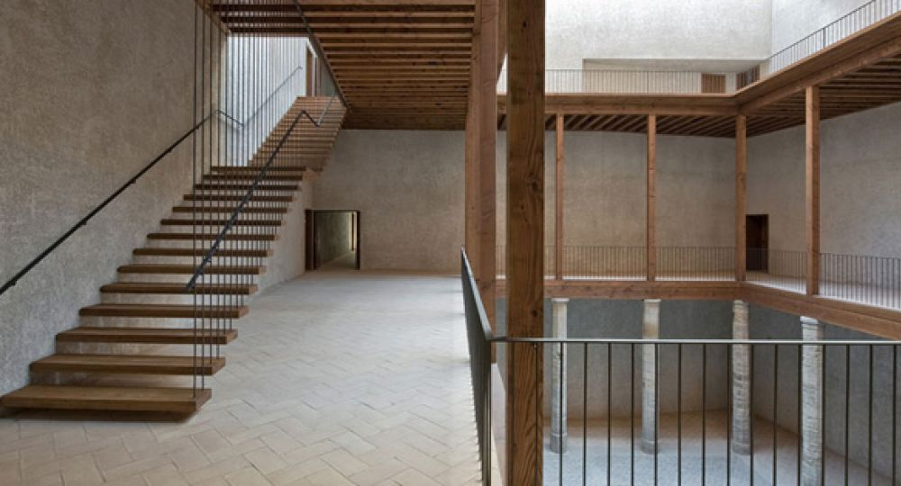 Recuperar una ruina palacio del condestable en pamplona arquitectura - Arquitectos en pamplona ...