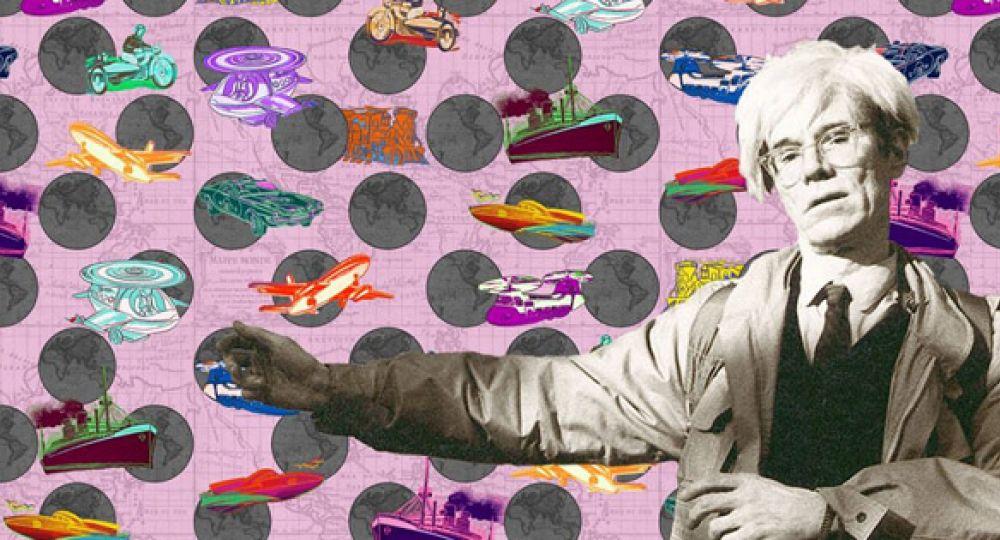 Empapélate con Warhol