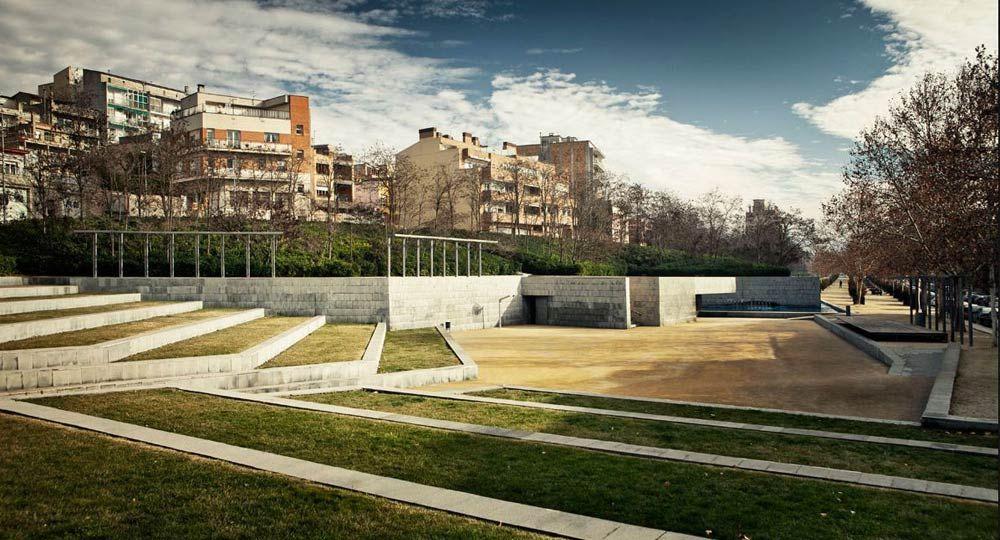Parque de la Estació Vella, por Batlle i Roig