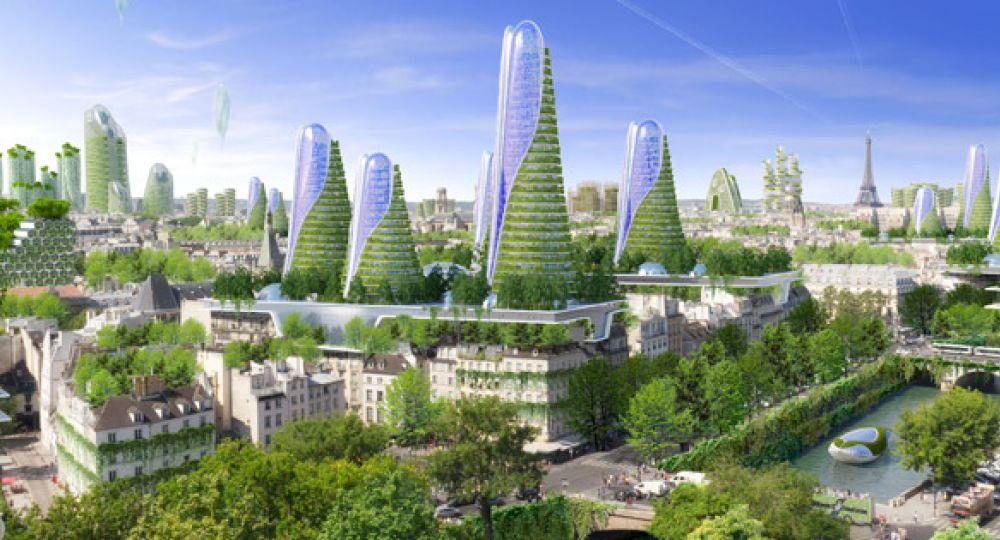 Arquitectura ecológica para París 2050