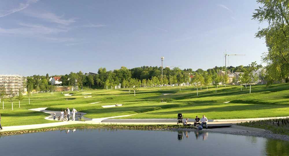 Parque Killesberg de Stuttgart, por Rainer Schmidt Landschaftsarchitekten