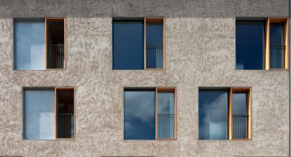 Viviendas en la calle descalzos de pereda p rez - Arquitectos en pamplona ...
