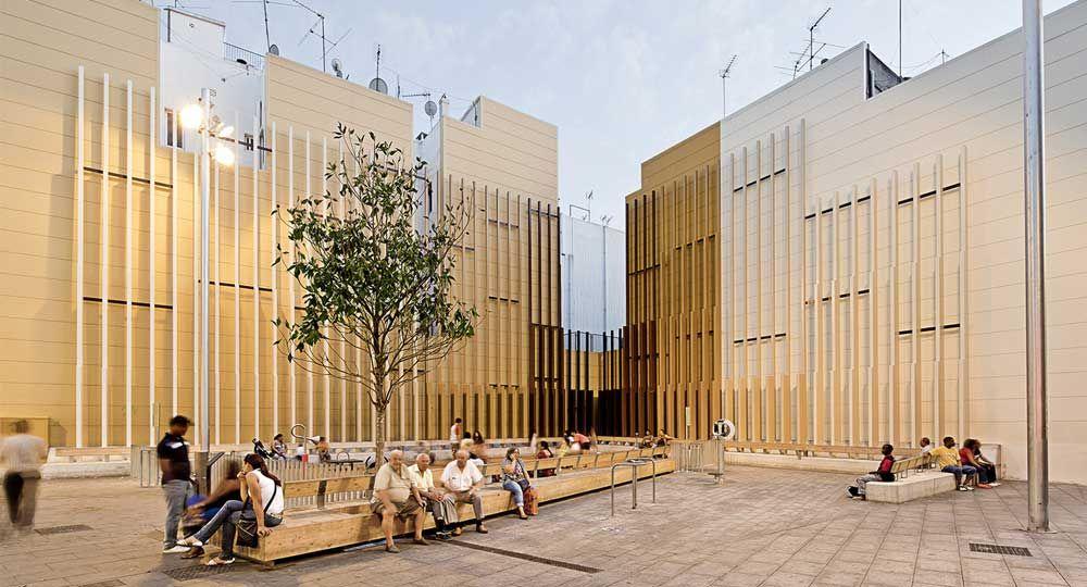 Plaça Espanyola en Hospitalet de Llobregat, por Noemí Martínez García