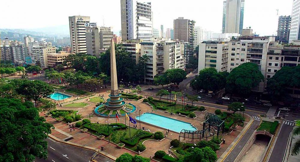 Plaza Altamira, lugar emblemático de Caracas