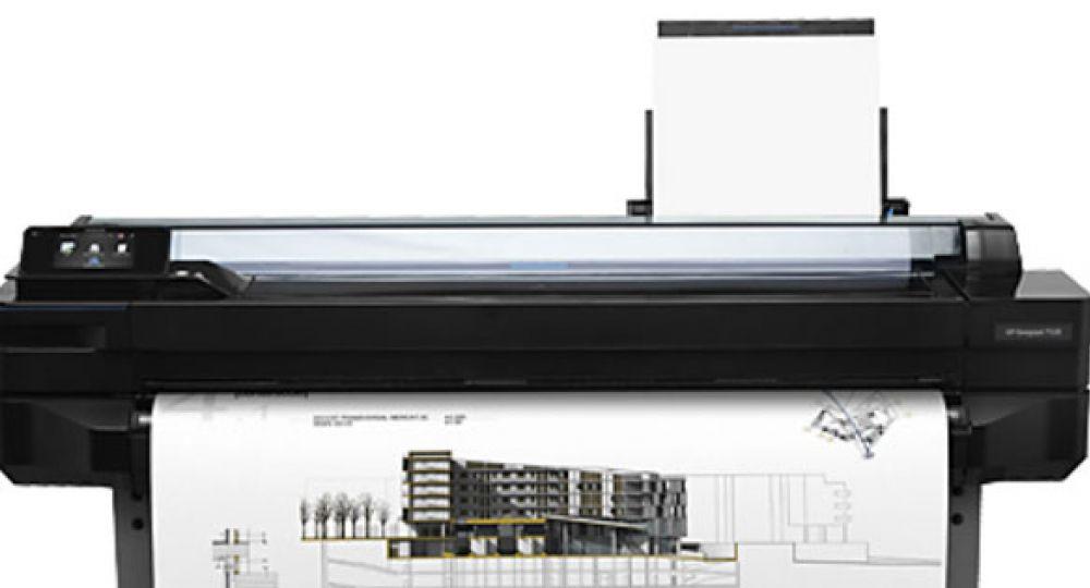 Impresora de gran formato Designjet T520 / HP | Intel