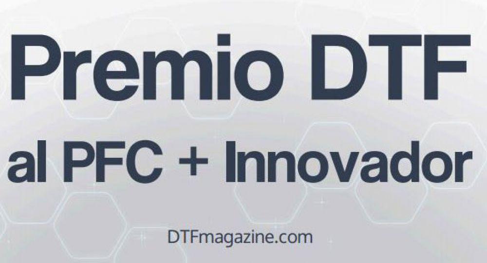 Premio DTF al PFC + Innovador