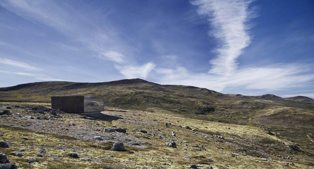 Arquitectura extrema: The Norwegian Wild Reindeer Centre Pavilion. SnØhetta.