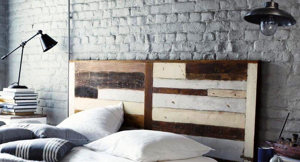 Dormitorios con cabeza ideas para decorar el cabecero - Cabeceros de cama con fotos ...
