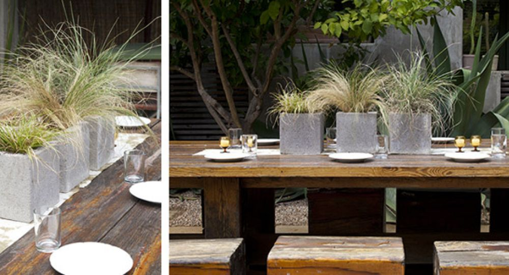 Diez ideas para reutilizar bloques de hormig n arquitectura for Bloques decorativos para jardin