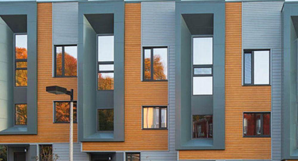 Las viviendas Roxbury E+ de Boston ya producen más energía de la que consumen