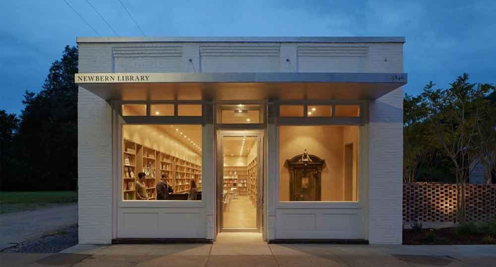 Biblioteca de Newbern, por Rural Studio Arquitectura