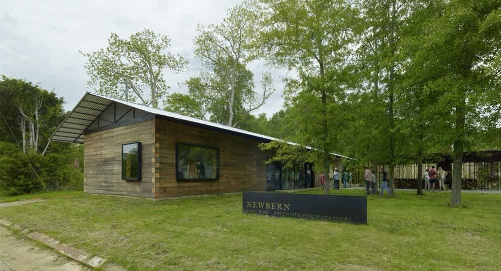 Ayuntamiento de Newbern, por Auburn University y Rural Studio Arquitectura