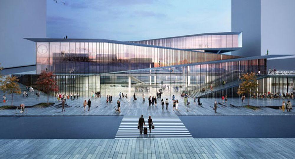 Saint-Denis Pleyel, la nueva estación 'emblématique' de París
