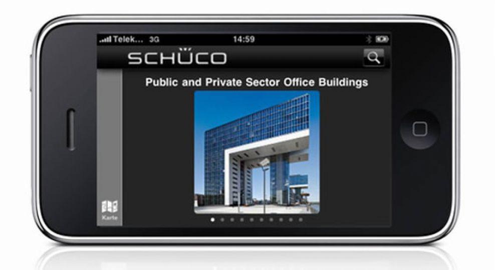 Schüco presenta la App Proyectos de Referencia