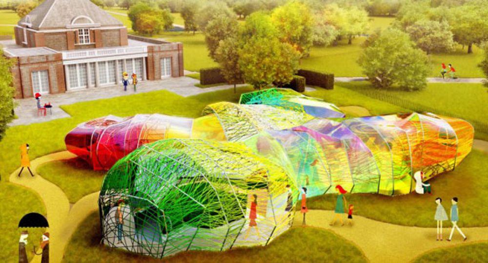 Los arquitectos españoles Selgas Cano diseñan el Serpentine Pavilion 2015