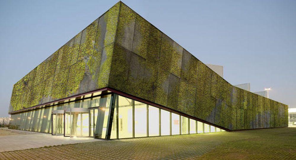 Hormig n biol gico arquitectura sostenible tecnolog a de - Materiales de construccion para fachadas ...