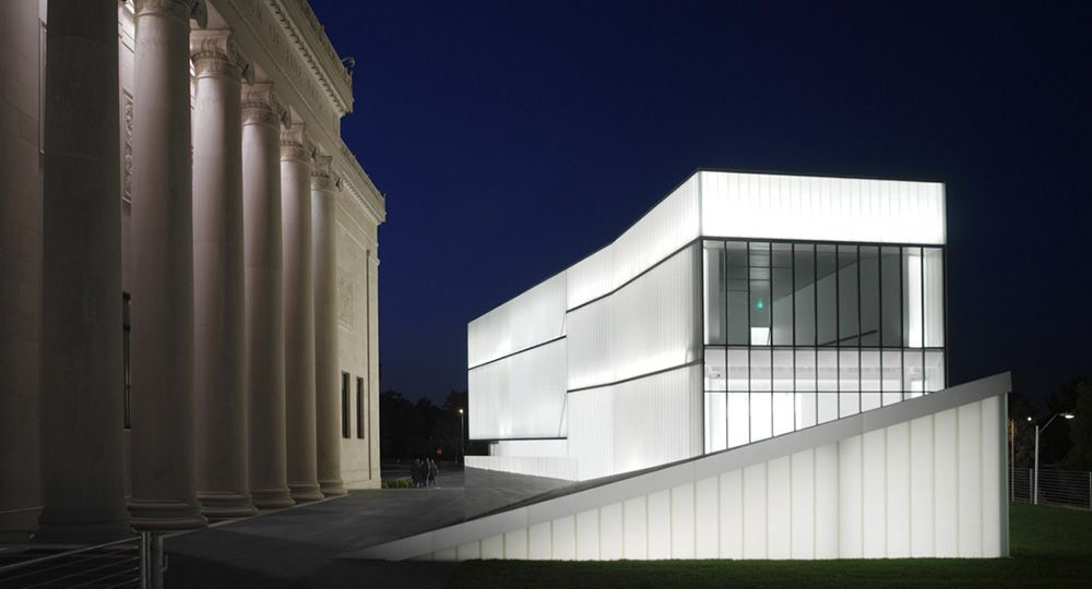 Museo de Arte Nelson-Atkins, de Steven Holl Architects