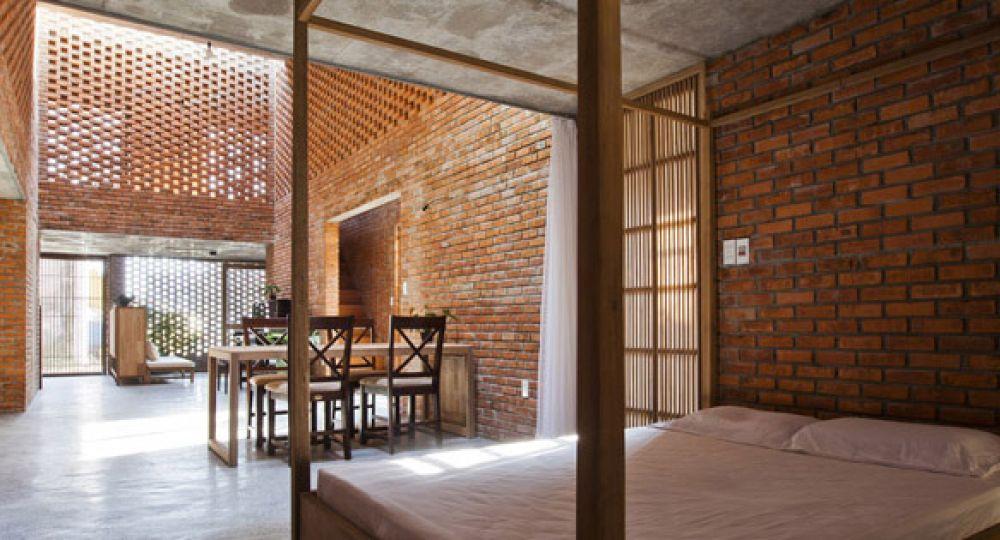 Celos a de ladrillo termitary house arquitectura - Oficinas y tabiques de cordoba ...
