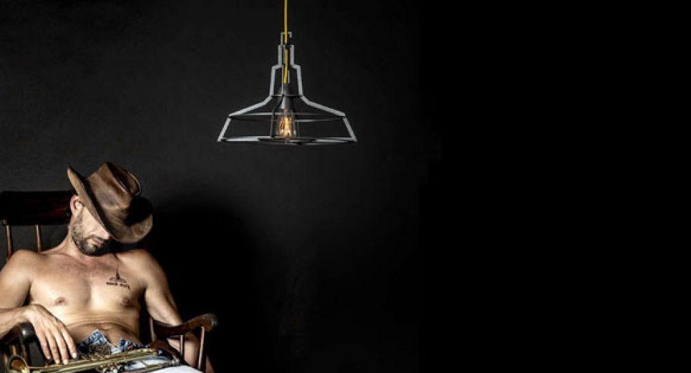 Colección de iluminación The Slims, estructuras de contorno puro
