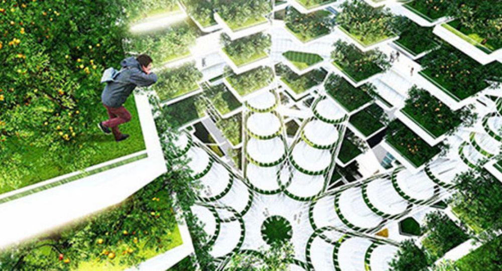 "Urban Skyfarm o ""granjas verticales"""