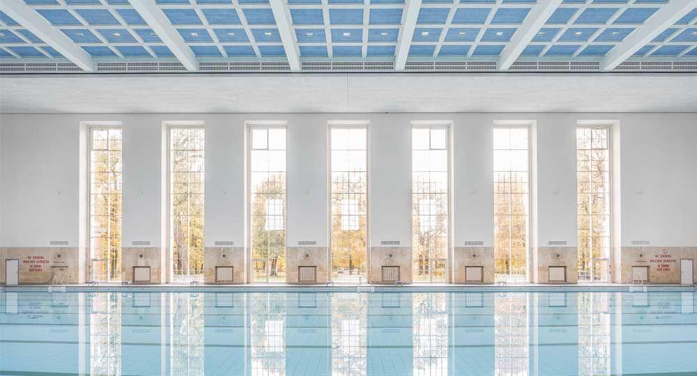 Rehabilitación de una piscina de época nazi: Finckensteinallee, por Veauthier Meyer Architekten