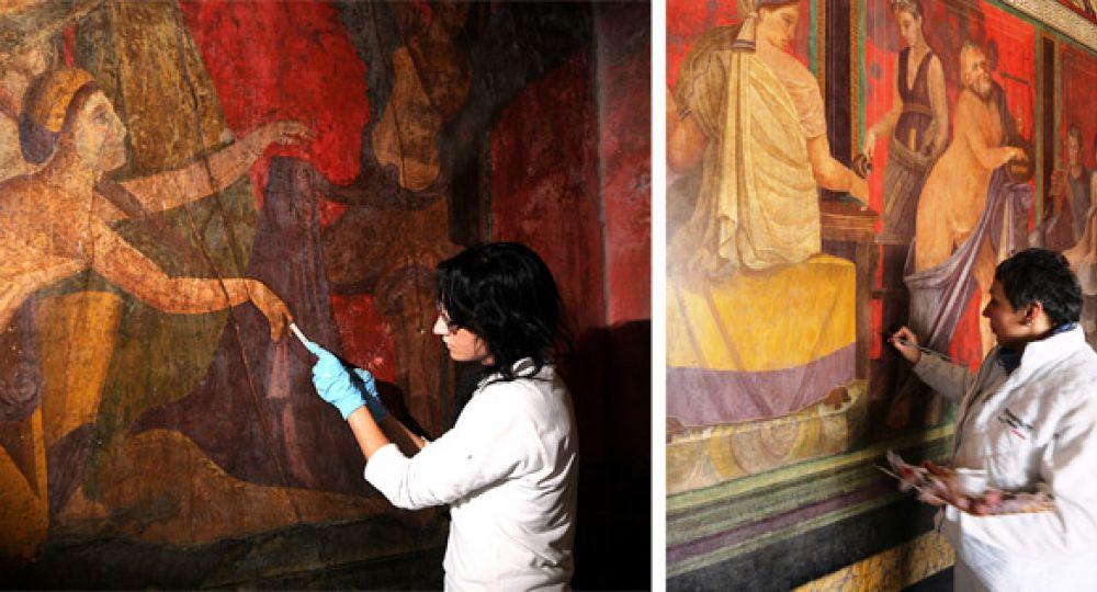 La Villa de los Misterios reabre sus puertas tras la restauración