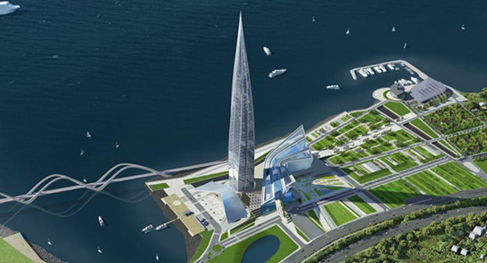 Lakhta Center: Nuevo rascacielos en San Petersburgo