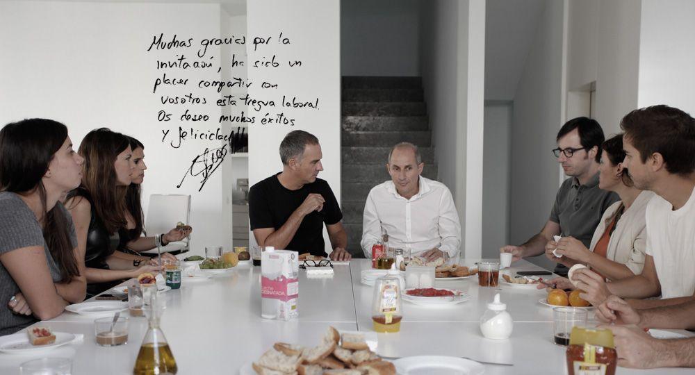 Desayuno con Ramón Esteve Estudio.