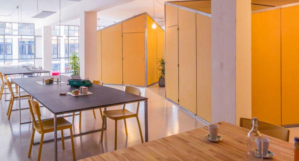 Nook Arquitectos se traslada al co-working diseñado por ellos mismos