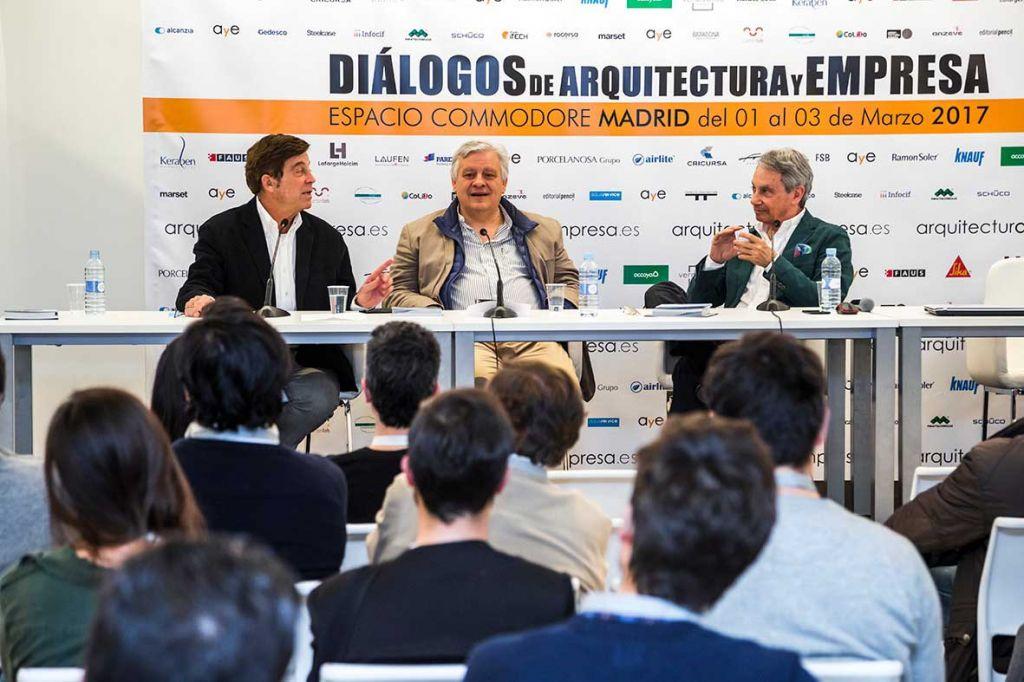 Dia 3: Diálogos de arquitectura y empresa MADRID