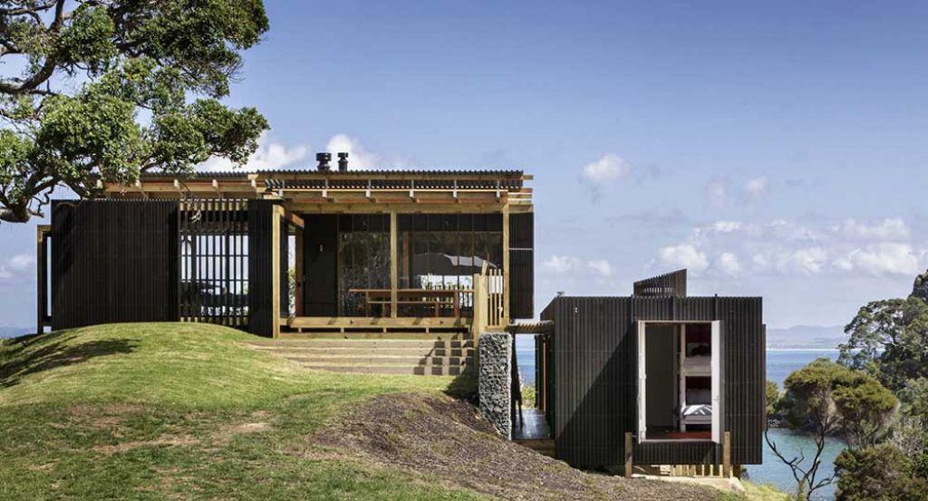 Viviendas vacacionales con vistas: Castle Rock House, de Herbst Architects
