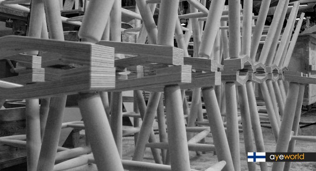 PUULON: Arquitectura finesa hecha mueble