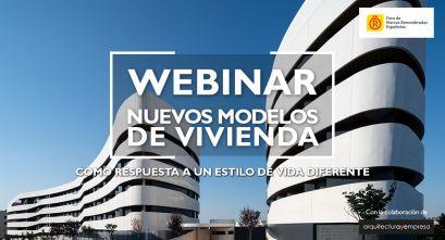Webinar: Nuevos modelos de viviendas