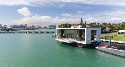 La Casa flotante Arkup en South Beach, Miami