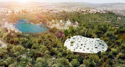 Casa de la Música Húngara, proyecto de Sou Fujimoto