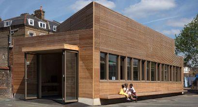 Centros educativos sostenibles: Eleanor Palmer Science Lab